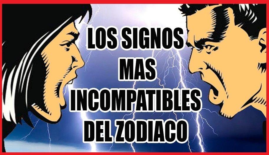 Signos Incompatibles