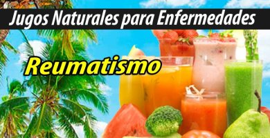 Jugoterapia Jugos Naturales para reumatismo