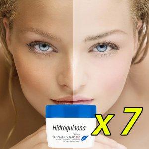 7 cremas hidroquinona blanqueadora piel white