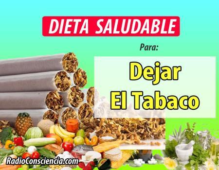 Dieta contra el Tabaco