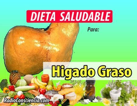 Dieta para el Hígado Graso