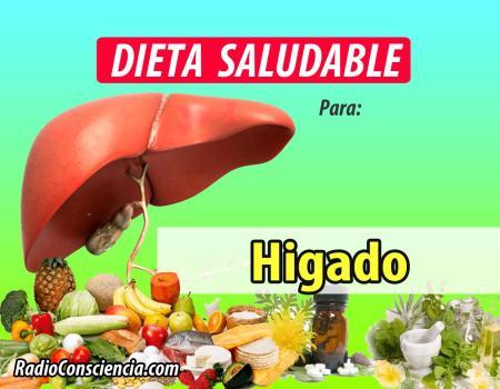 Dieta para el Hígado