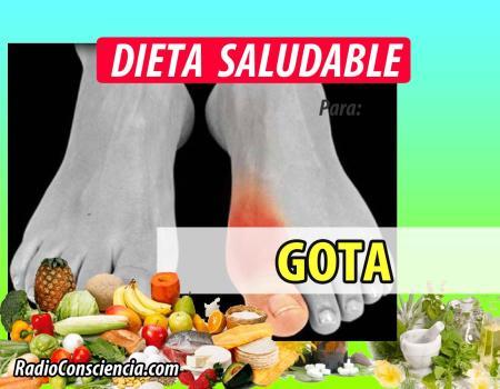 Dieta para la gota
