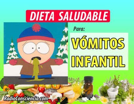 Dieta para los Vómitos Infantiles