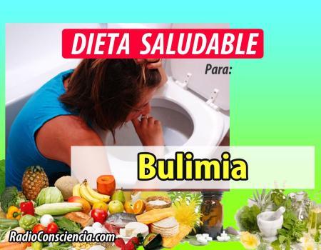 Dieta para personas con Bulimia