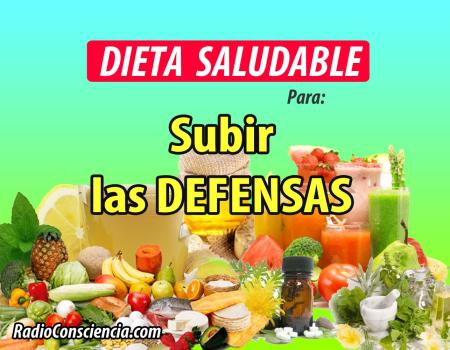 Dieta para reforzar tus defensas