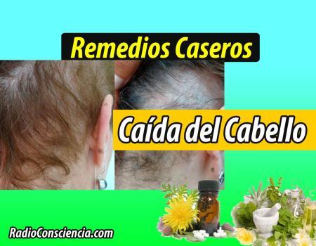 Remedios para la Caída de cabello