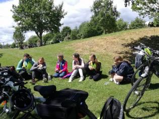 Elevi din 23 August pe bicicletă în Germania