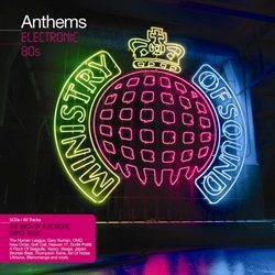 Ministry of Sound Anthems Electronic 80s cover album
