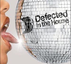 Defected In The House - mirror orb with preatty woman face