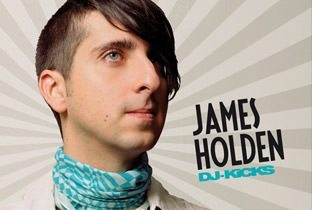 Dj Kicks by James Holden - cover album with James Holden's face