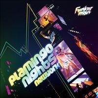 Flamingo Nights by Funkerman - mix CD cover