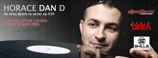 Horace Dan D guest in DJsets series