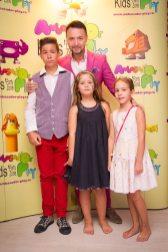 Nicusor Stan si copiii sai