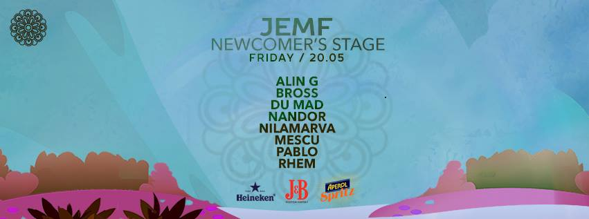 JEMF Newcomer's Stage line up