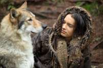 Keda (Kodi Smit-McPhee) with Alpha in Columbia Pictures and Studio 8's ALPHA.