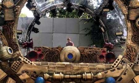DJ Dobrikan pe scena Time de la Untold 2018