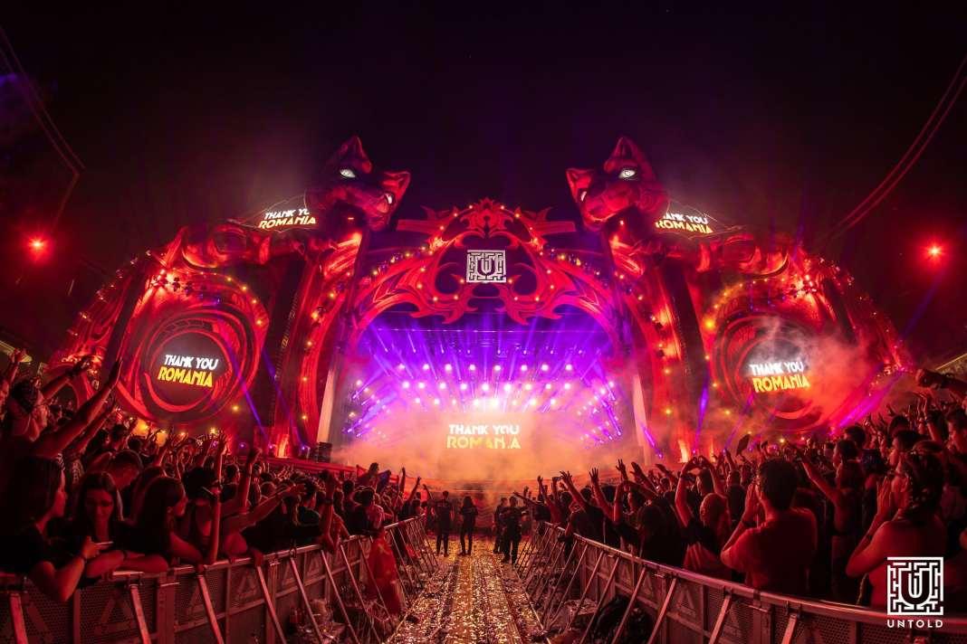 Scena principala a festivalului Untold