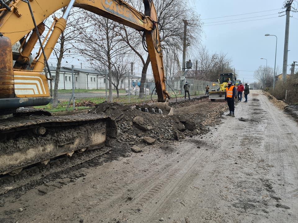 In sfarșit, strada Forestierului va fi asfaltată