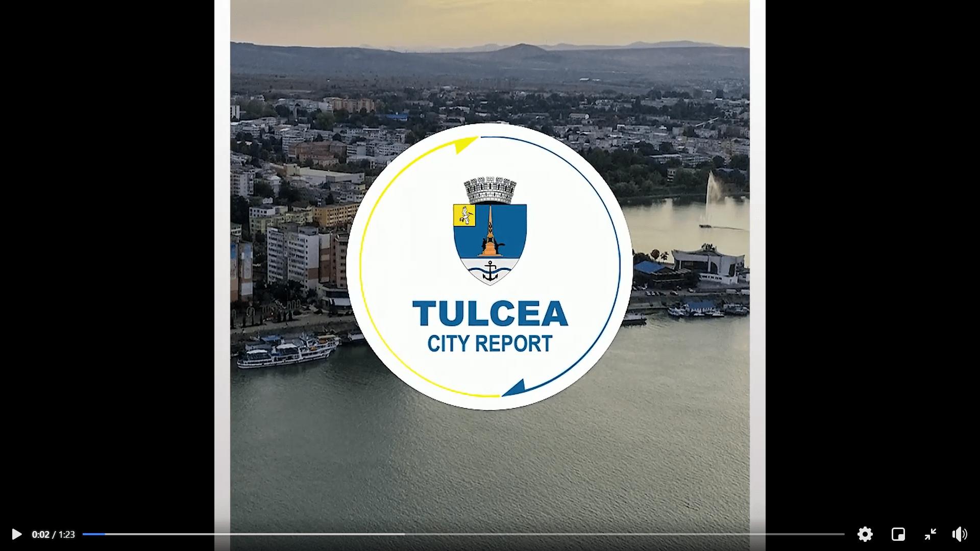 """Se lansează """"Tulcea City Report"""""""