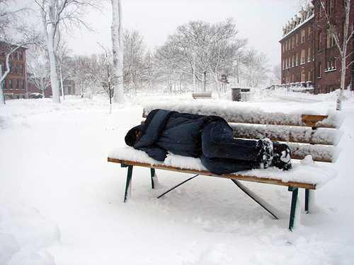 Ajutor pentru persoanele fără adăpost