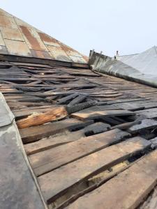 Anexă din Măcin stinsă de pompieri