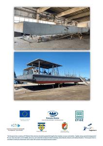 """Proiectul EFIGE – un ponton va fi folosit pentru promovarea turismului din Euro-regiunea """"Dunărea de Jos"""""""