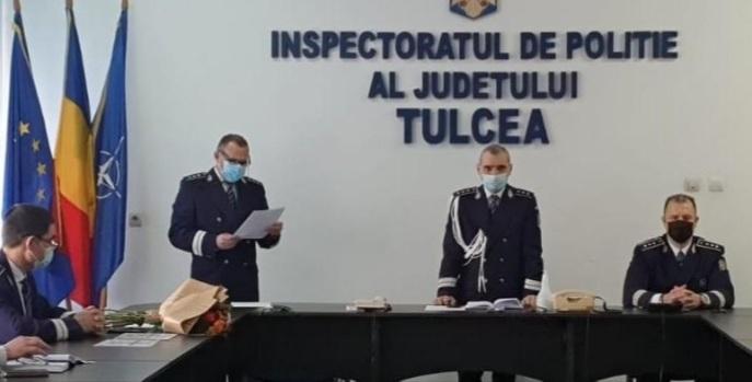 Peste 80 de avansări în grad la IPJ Tulcea
