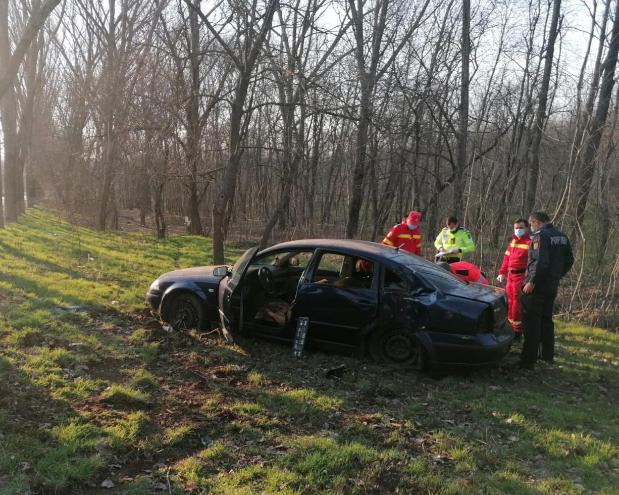 Accident cu două victime pe ruta Agighiol -Tulcea