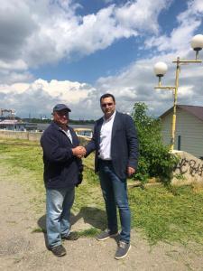Apele Române, prima instituție care a reacționat la apelul Serviciilor Publice Tulcea