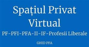 Înregistrarea în Spațiul Privat Virtual devine obligatorie