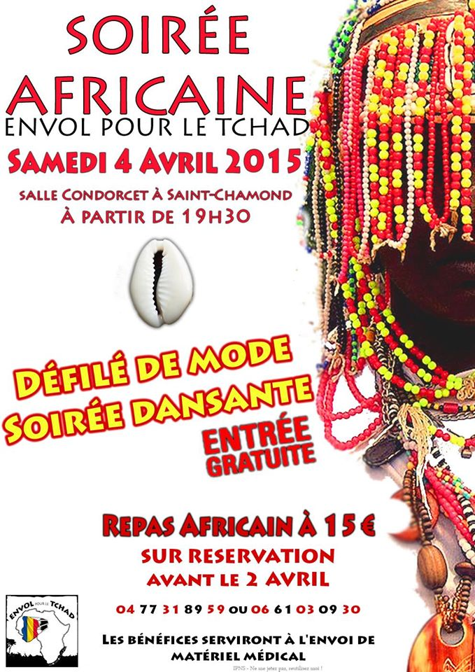 Soirée Africaine franco-tchadienne