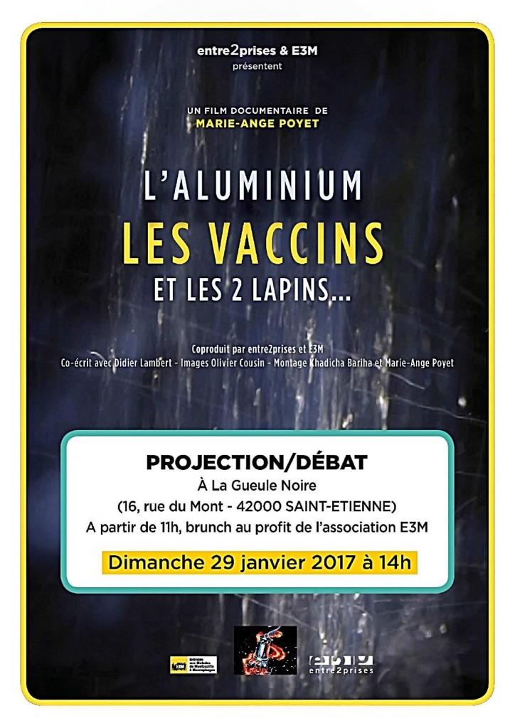 Brunch-proj-débat : L'aluminium, les vaccins et les 2 lapins…