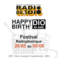 Happy BirthDIO ! Festival Radio (programme du 30 mai au 6 Juin)