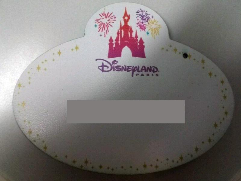 NameTag Disneyland Paris