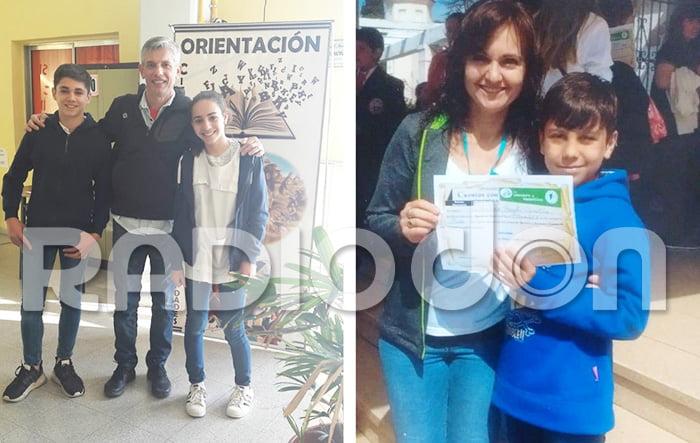 Alumnos de Castex en las finales nacionales de olimpíadas educativas