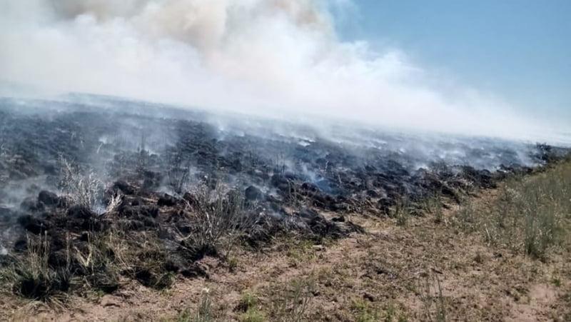 Desde este lunes está habilita la temporada de quemas prescritas en La Pampa