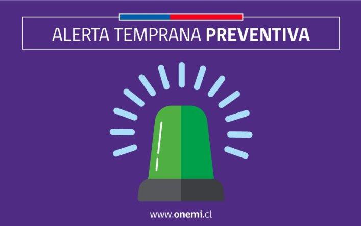 """Onemi declara """"Alerta Temprana Preventiva"""" para la Región del Biobío por sistema frontal"""