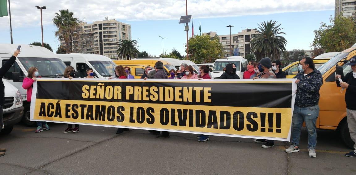 Transportistas escolares Coronelinos anuncian movilizaciones