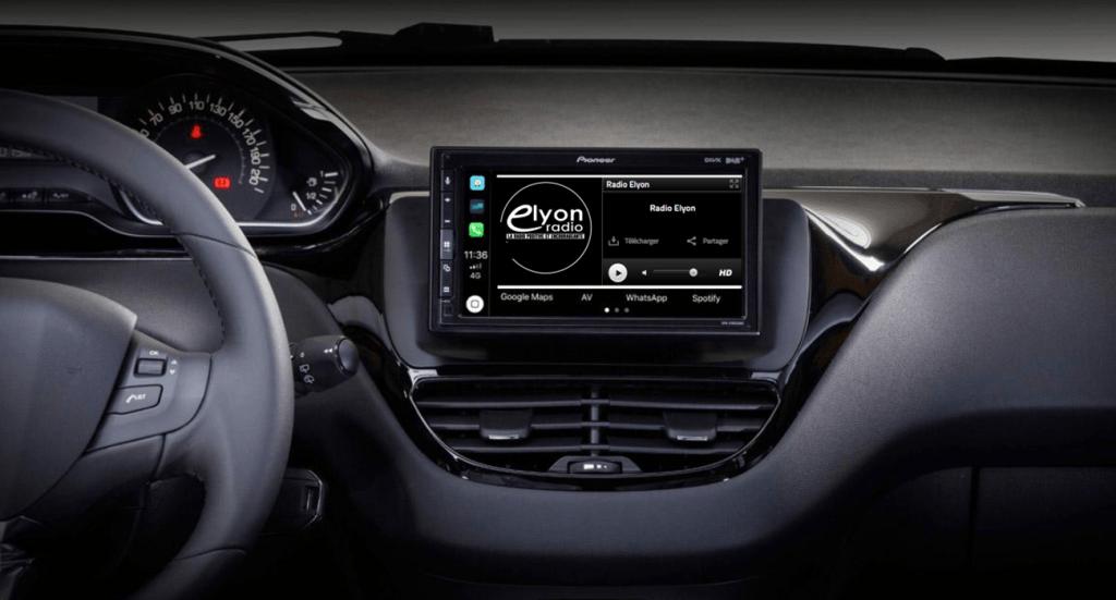 Profitez de Radio Elyon dans votre voiture !