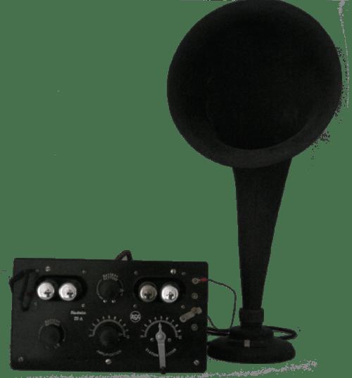 Radio antigua Años 20 - Radiola IIIa - radioexperto.com