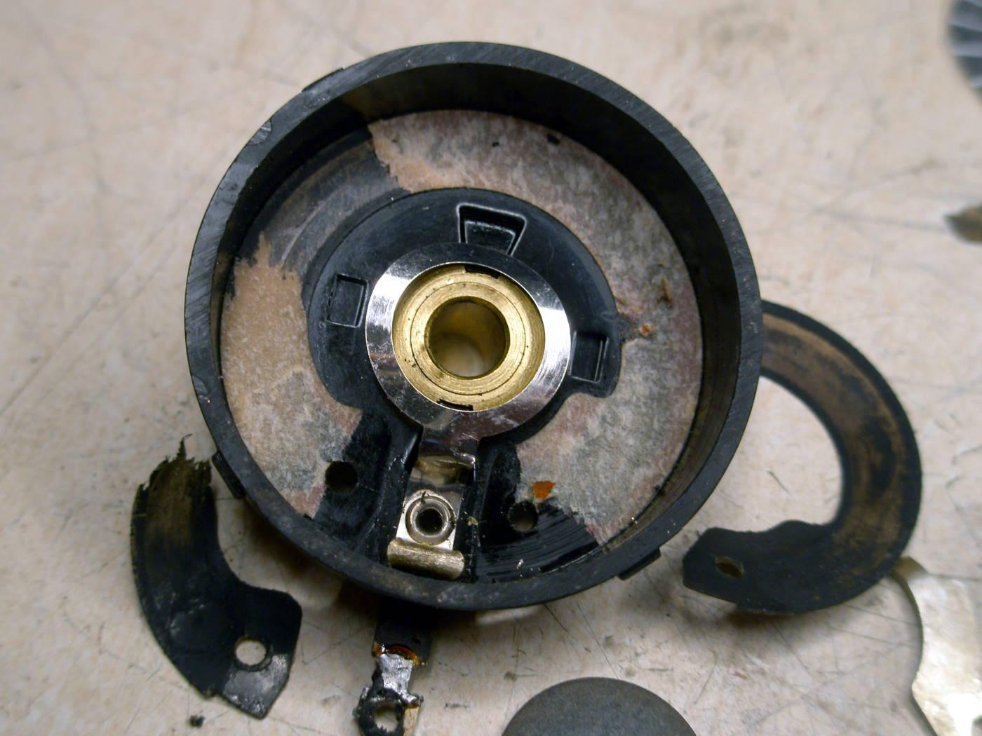 Reparación Potenciómetro radio antigua - Autoradio Philco mod 7 - 15