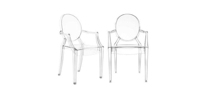 Chair Louis XVI ghost Philippe Starck