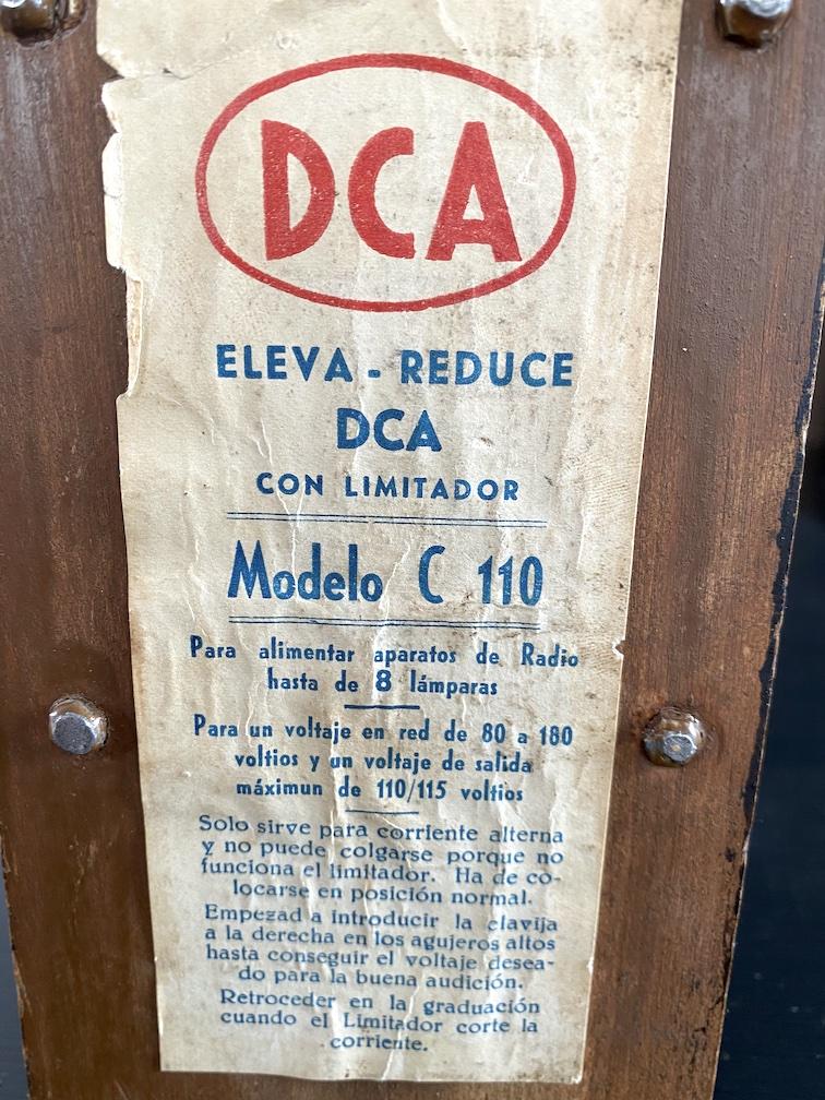 Elevador reductor DCA modelo C110