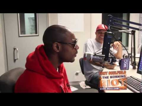 Tank's a Morning Riot on WGCI when he goes in on Brian McKnight