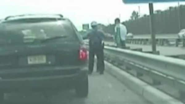 New Jersey State Trooper Pulls Gun on County Police Officer Resulting in Ugly Confrontation (VIDEO)