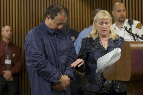 Ariel Castro appears in court with public defender Kathleen DeMetz in Cleveland