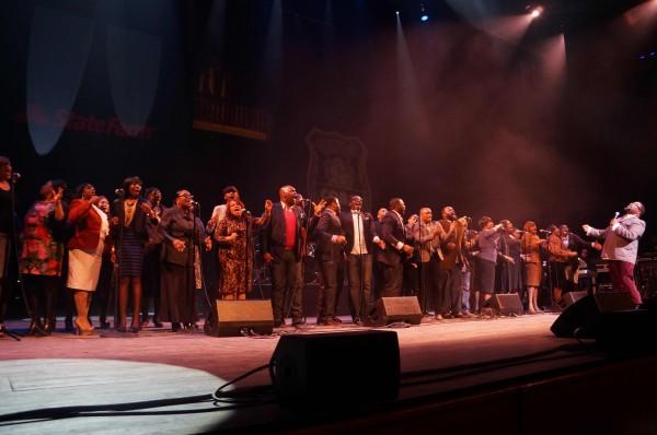 Bishop and Choir