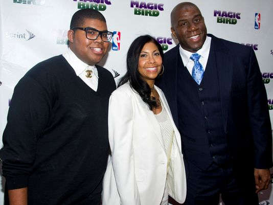 Magic and Cookie Johnson Speak On Their EJ's Public Life and Coming Out