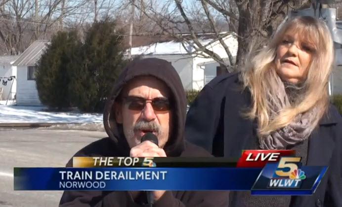 Hilarious: News Reporter Interrupted (vid)